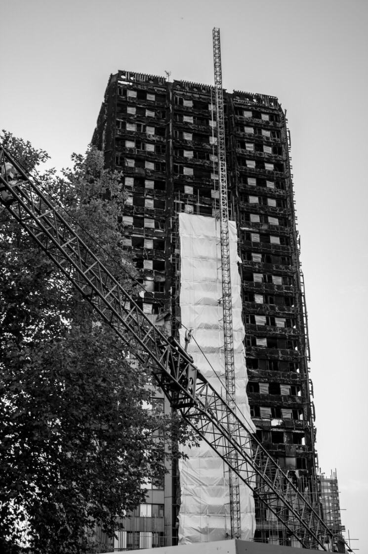 Why Has It Taken So Long To Start Work On Shielding Grenfell Tower? By Lisa Mulholland