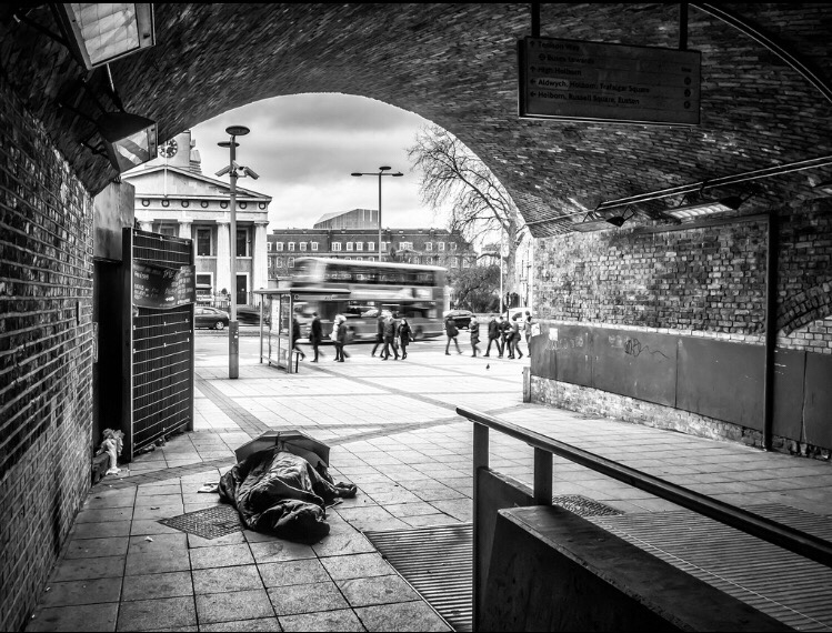 The Rough Sleeping Homeless- A Growing Problem by Eddie Luigi