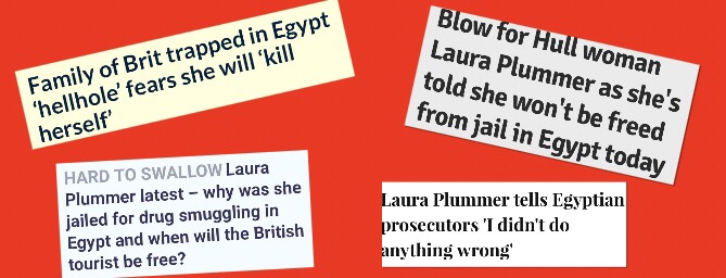 Pardon Me, Ms Plummer! British Tourist or Egyptian Drug Smuggler? By Lucy Chapman