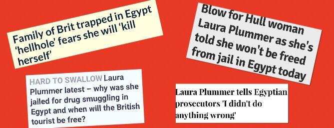 Pardon Me, Ms Plummer! British Tourist or Egyptian Drug Smuggler? By LucyChapman