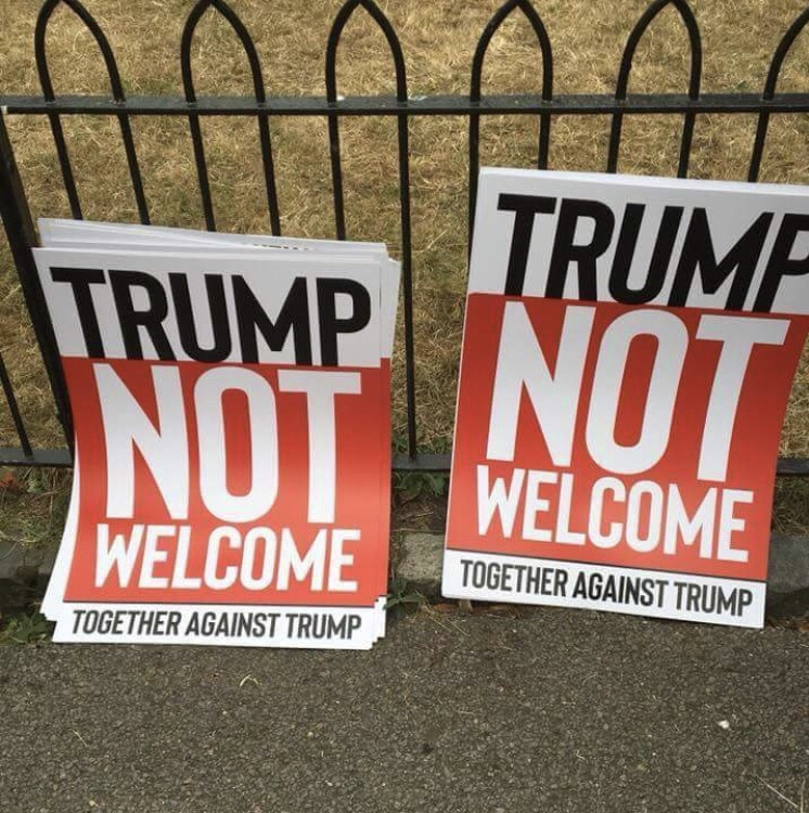 Why I'll Be Marching Against Donald Trump Today By Kelly Grehan