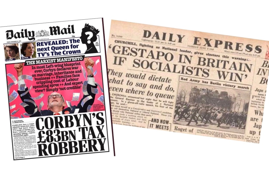 Why The Similarity In These Headlines Could Be A Good Thing For Labour By Lisa Mulholland